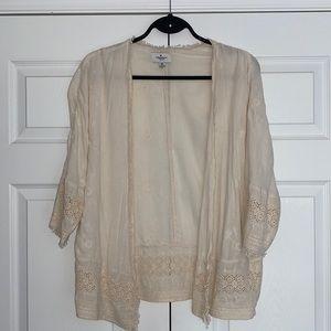 American Eagle boho kimono/ cover up XS/S